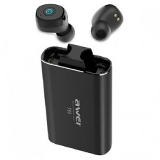 Fone de Ouvido Bluetooth TWS com Base Carregadora + Power Bank 1800mAh Awei T85
